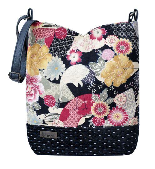 8f0f890c1d1 Pochette anse Hokkaido Japon tissu édition limitée Bloomi Aurélia Venel  accessoire sac à main face