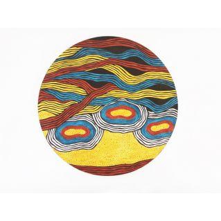 Panneau décoratif  mural au motif africain