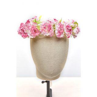 Couronne de Roses Rosée du Matin