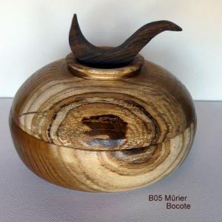 B05 mûrier et fleuron de Bocote