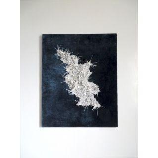 Tableau textile « Inlandsis »