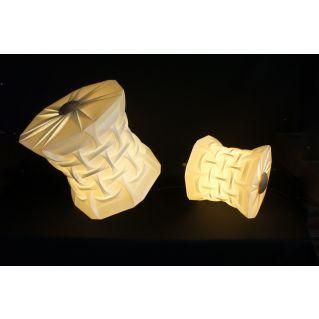 Lampe / Suspension TETRA S en polypropylène plié
