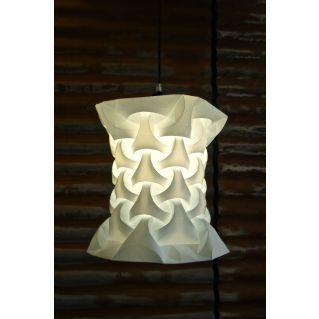 Lampe / Suspension DECA S en polypropylène plié