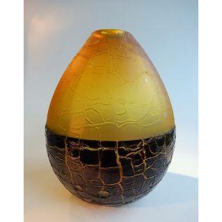 "Vase ""K"" ambre"