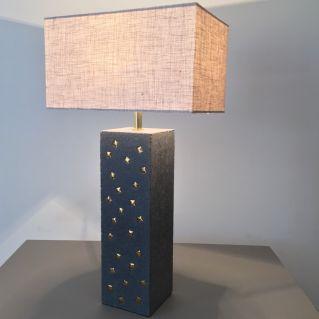Lampe «Citadine céramique» - PM - carrée