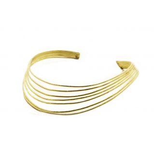 Collier aux 7 arcs dorés