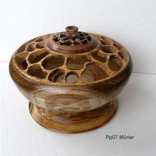 Pp07 Pot pourri en mûrier platane