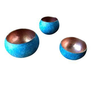 Mini blue bol