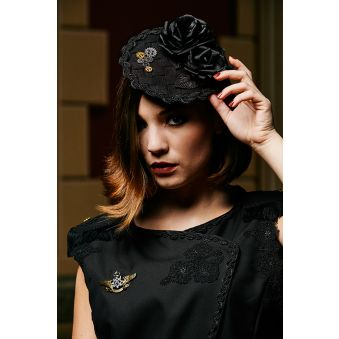 Chapeau Bibi Magie noire