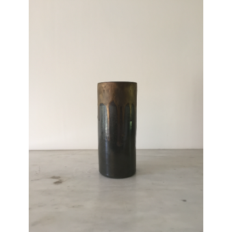 Vase Tube, collection Gris Perle
