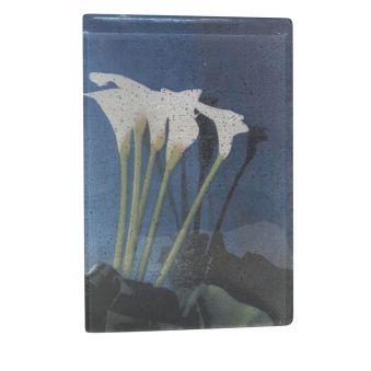 """""""Arums"""", image inscrite dans le verre"""