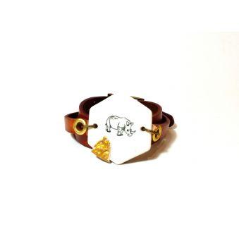Bracelet Rhinocéros