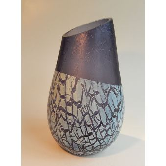 "Vase ""K"" Mountain blue"