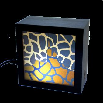 Lampe KINO motif Marseille
