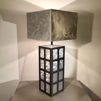Lampe «Vision alu»