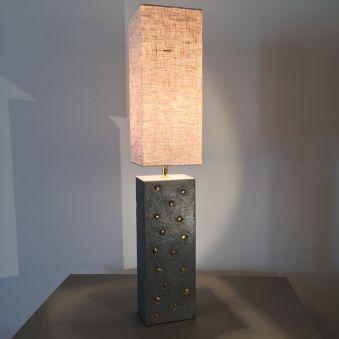 Lampe «Citadine céramique» - PM - rectangulaire