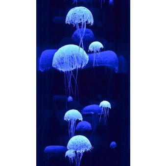 """Lampe """"Colonne de méduses"""", modèle fin"""