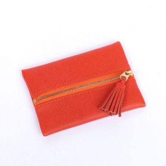 """Porte-monnaie """"Valéria"""" orange"""