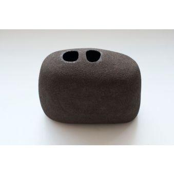 Basalte - grès noir chamotté