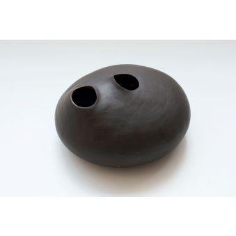 Mofette - grès noir lisse