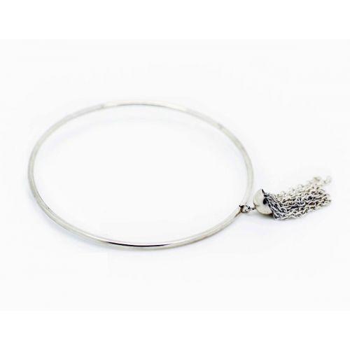 bracelet argent drapé philomène thebault joaillière paris
