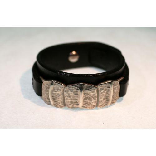 Bracelet de force pour femme en argent