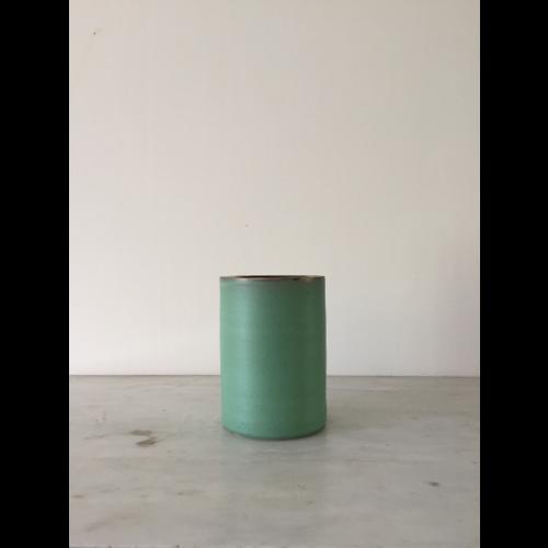 Vase anneau, collection Vert Antique