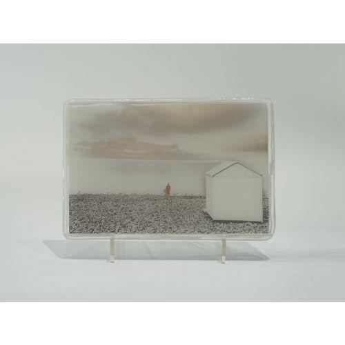 """""""Le voyage"""", image inscrite dans le verre"""