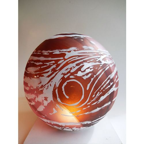 """Sculpture de verre """"Planète"""""""