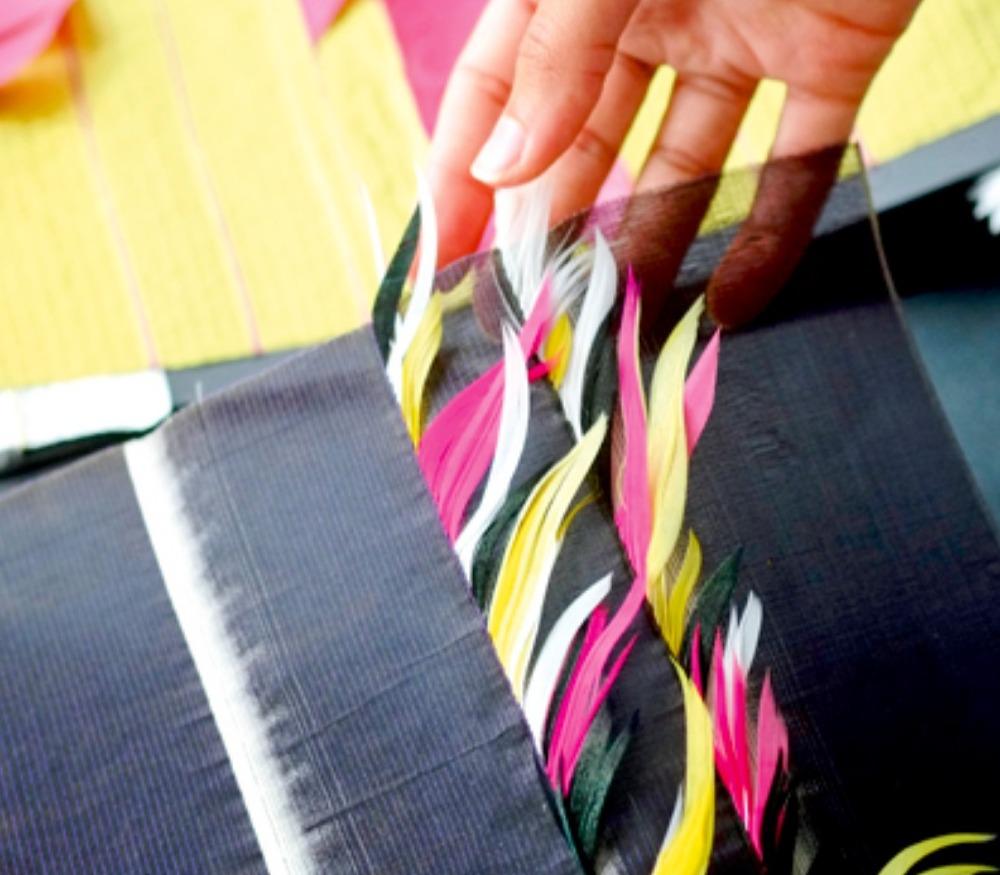 janaina milheiro ; designer textile ; plumassiere ; artisan ; savoir-faire ; créateurs