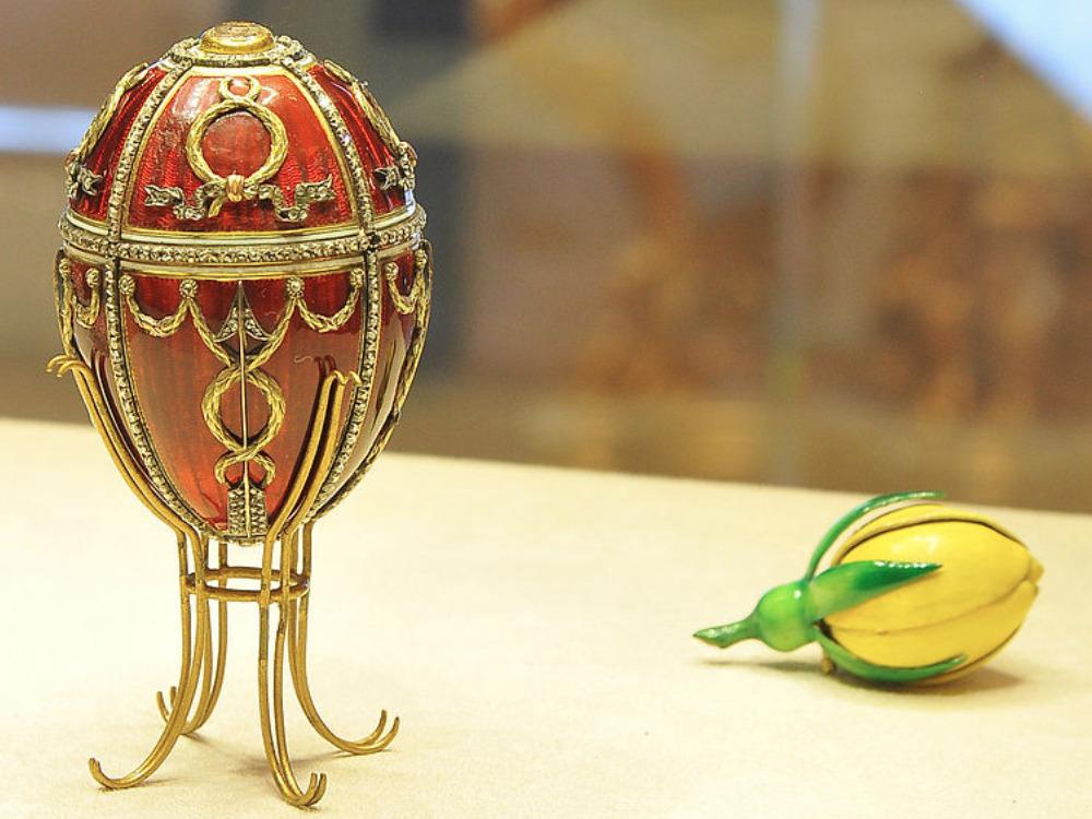 Les œufs Fabergé, chefs d'œuvres de l'art et de la joaillerie