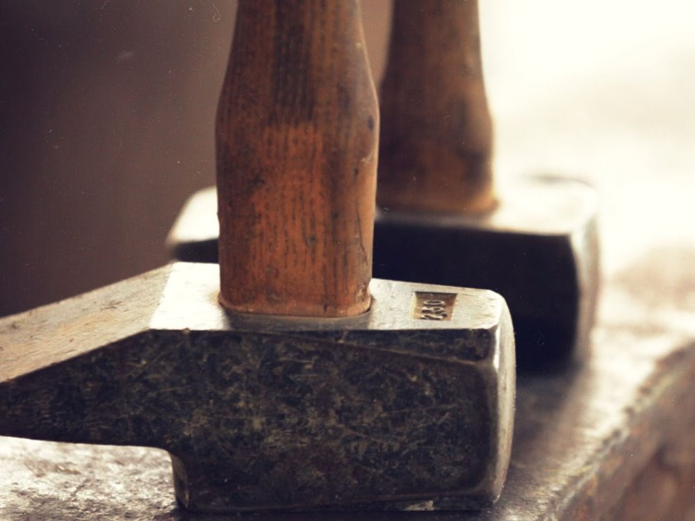 Le travail du métal au marteau