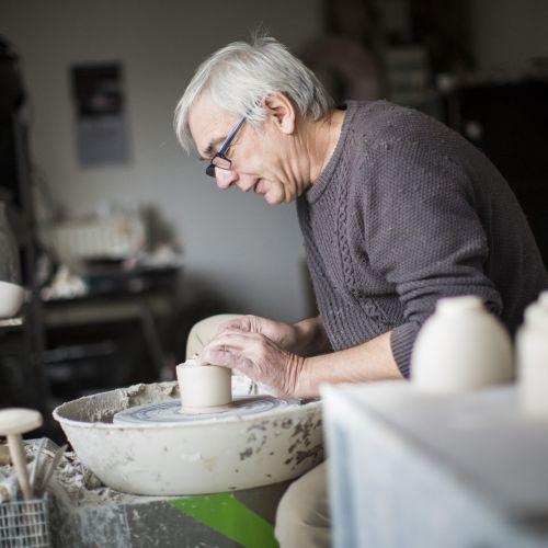 Atelier d'Alain Fichot, céramiste