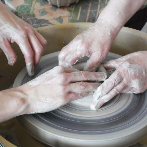 Atelier de la céramiste Isabelle Thomas