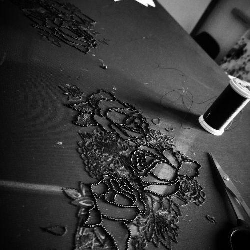 Atelier de Claudie Duperrier, brodeuse et créatrice textile