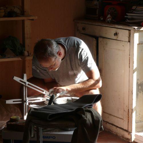 tournage olivier fisbach ceramiste atelier