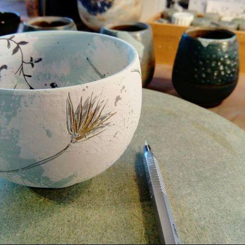 bol décor ceramique estelle rehault boisnard