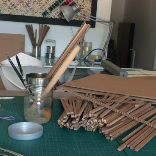 artisanart marie anne thieffry sculpteur de carton. Black Bedroom Furniture Sets. Home Design Ideas