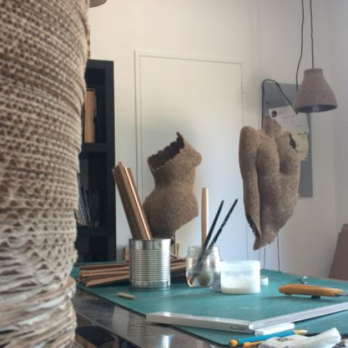 Atelier de Marie-Anne Thieffry, sculpteur de carton