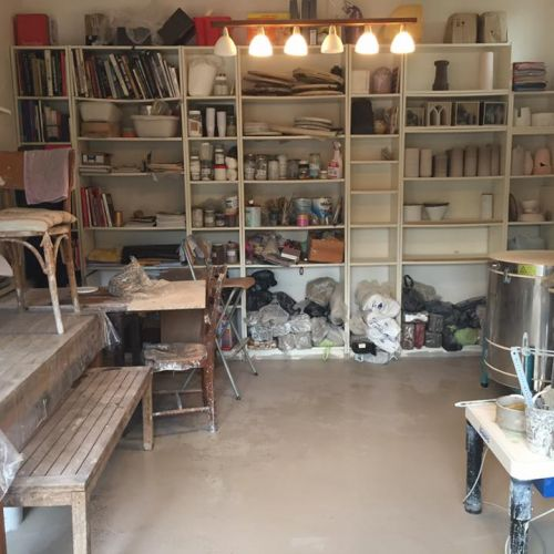Atelier de la céramiste, Marie-Caroline Lemans