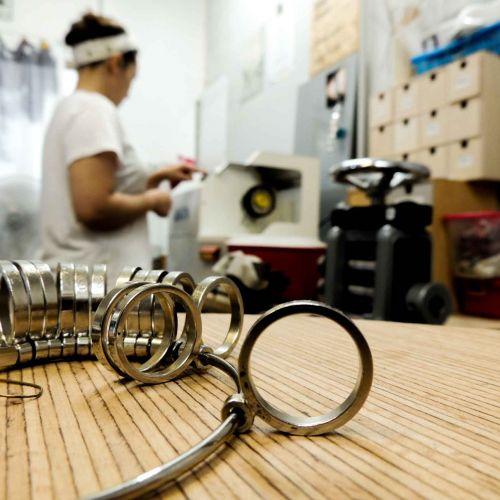 Atelier de Félicie Colin, créatrice de bijoux